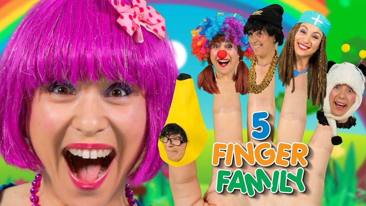 Finger Family Dress Up | Finger Family Song | Debbie Doo