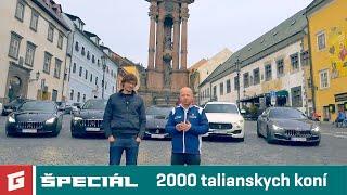 Maserati Levante, Ghibli, Quattroporte and GT Sport - ENG SUB - GARAZ.TV