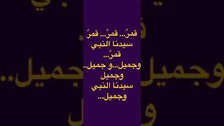 كلمات أغنية نشيد قمر سيدنا النبي طيور الجنة. Lyrics Qamarun sidna nabi. Song. Nashid