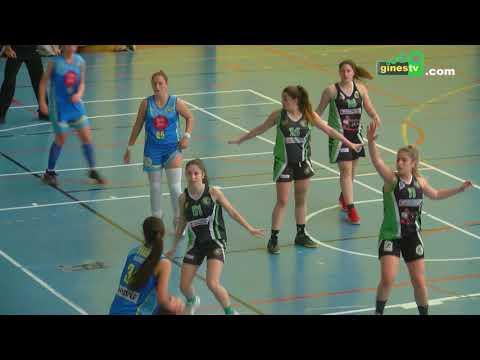 El júnior femenino del CD Gines accede a la fase final del campeonato de Andalucía de baloncesto