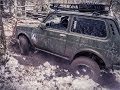 Lada Niva 4x4 Winter Challenge Training 2014