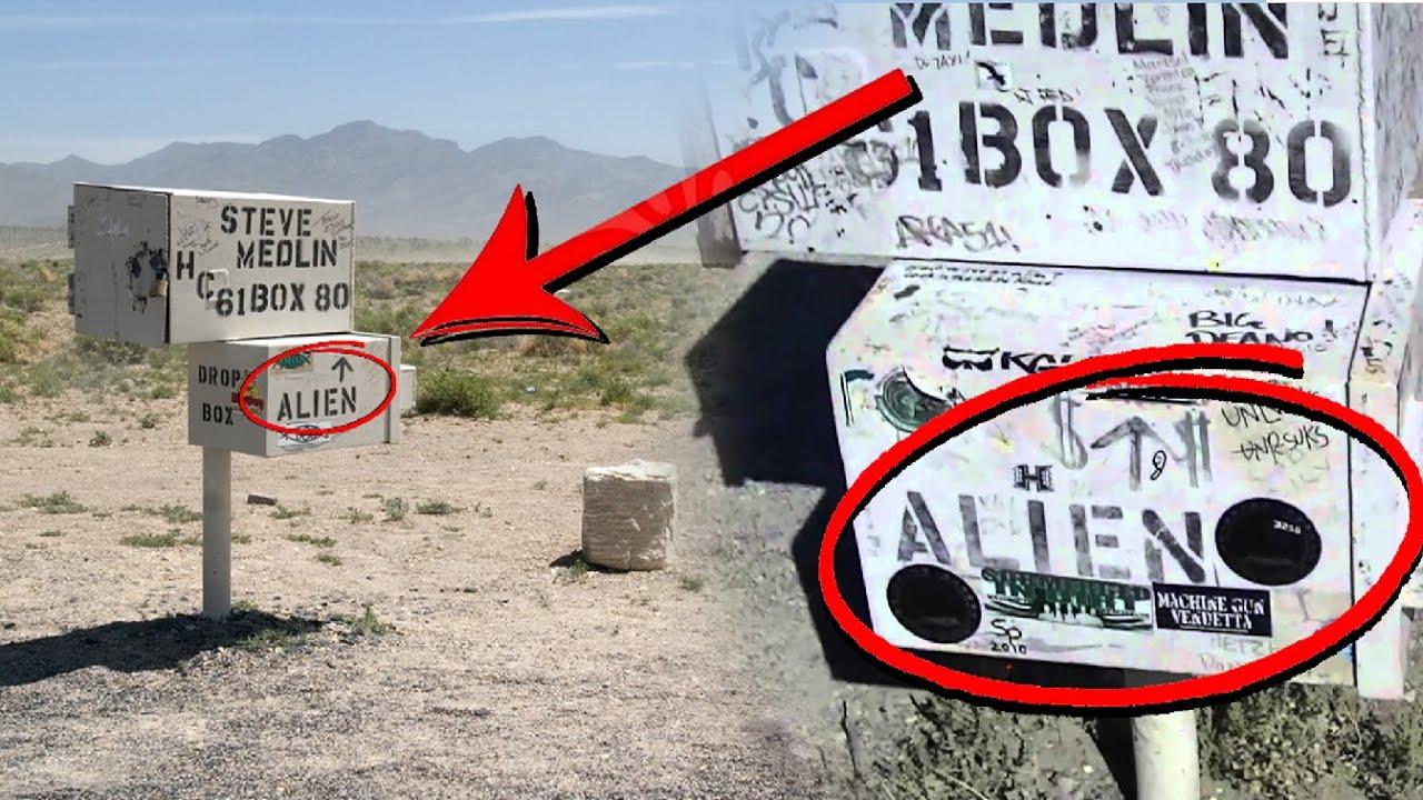 Area 51 Nevada >> El MISTERIOSO BUZÓN encontrado en EL ÁREA 51 (Real) THE BLACK MAILBOX - YouTube
