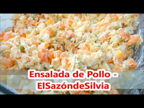 Ensalada de pollo - ElSazóndeSilvia