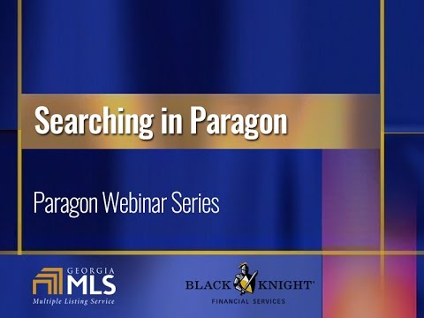 Webinar Wednesday: Searching in Paragon
