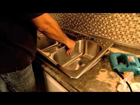 Cómo cambiar un fregadero de cocina   youtube