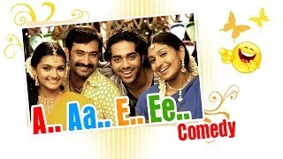 A Aa E Ee | Tamil Movie Comedy | Prabhu | Monica | Aravind Akash | Navdeep | Saranya Mohan