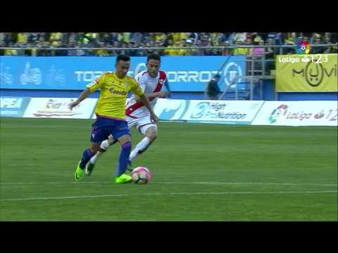 Resumen de Cádiz CF vs Rayo Vallecano (1-0)