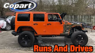 Rebuilding a Wrecked 2013 Jeep Wrangler Jk From Copart Part 9