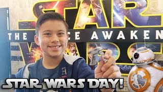 TOY SHOPPING & GOING TO THE MOVIES!!! Star Wars: The Force Awakens is Here!