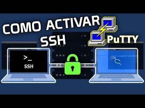 ▷ Como ACTIVAR SSH en Kali Linux | Conectar PuTTY a Maquina Virtual LINUX