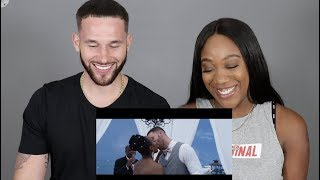 REACTING TO OUR WEDDING VIDEO!