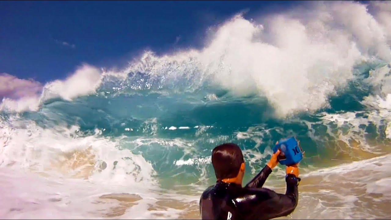 GoPro HD Surf Photography With Clark Little
