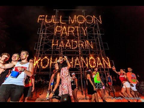 Full Moon Party-Koh Phangan ( 31 Jan 2018 )