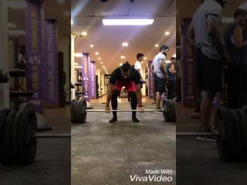 DLs x 170 kilos x 6 reps @ bw 81 kilos