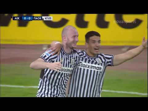 AEK PAOK Goals And Highlights