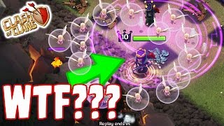 "Clash Of Clans -""NEW ARCHER QUEEN HEALER GLITCH!? Game is Broken!!! (MUST WATCH)"
