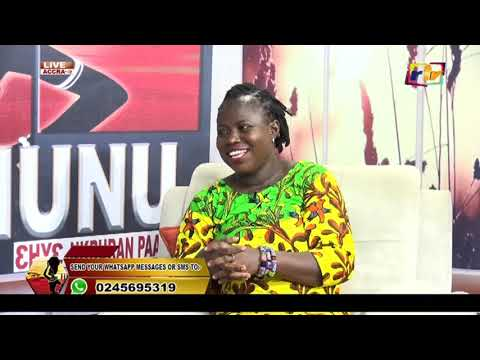 Joseph Dwamina Stands In For  Afro Songstress Lily M To Interview NANA AMA On  OBRAMUSUAHUNU2B