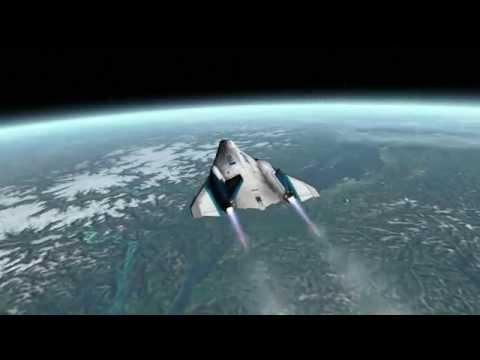 Space Tourism - All Nippon Airways XR2 spaceplane [Orbiter]