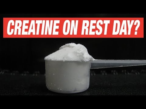 Should you take Creatine on your rest day?