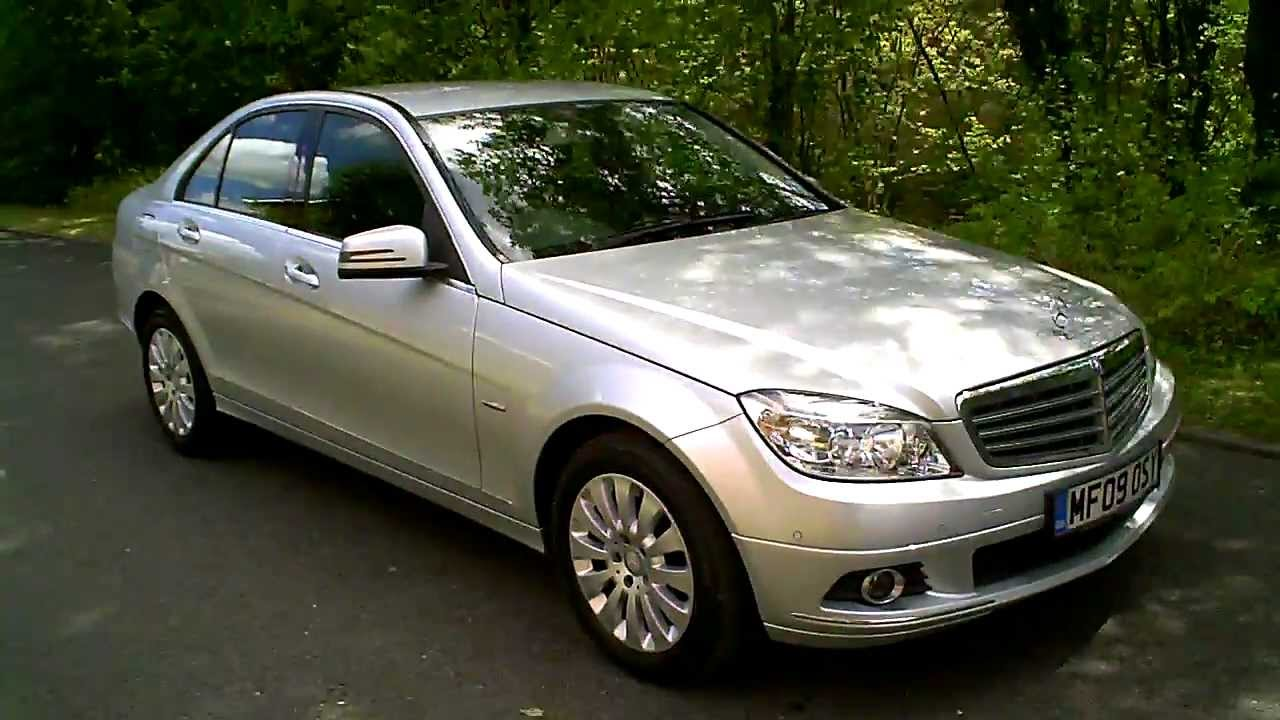 2009 mercedes c220 cdi elegance auto diesel youtube. Black Bedroom Furniture Sets. Home Design Ideas