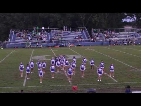 Ohs Cheerleaders Halftime