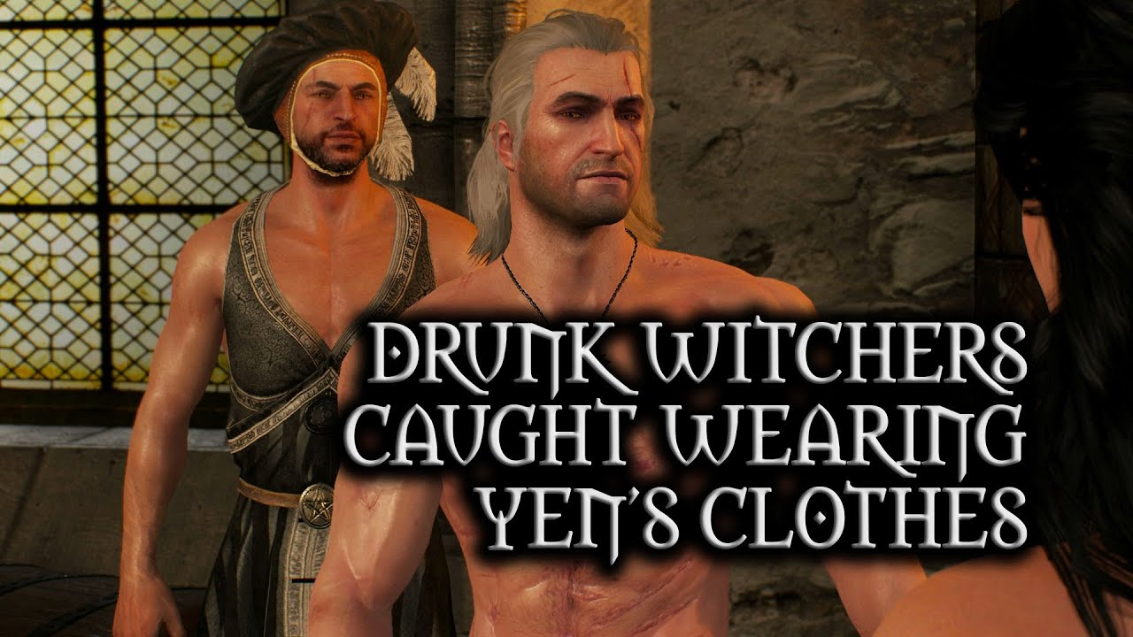 The Witcher 3: Wild Hunt - Witchers caught wearing Yen's Clothes