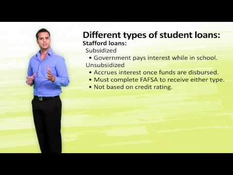 "Module 7.9 - Student Loans  Loans -- The ""Last Resort"" Type of Financial Aid"