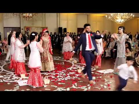 Taro Ka Chamkta Gehna Ho Sister .taaron Ka Chamakta Gehna Ho- Best Brother Dance In Sister's Marriag