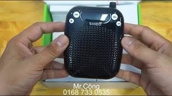 Máy trợ giảng giá rẻ SHIDU S611
