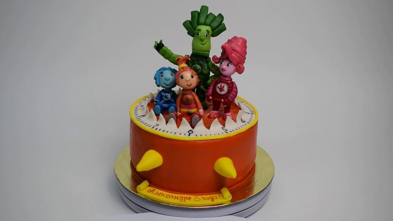 фиксики фото торт