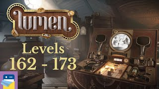 lumen.: Chapter 5 Levels 162 - 173 Walkthrough & iOS Apple Arcade Gameplay (by Lykke Studios)