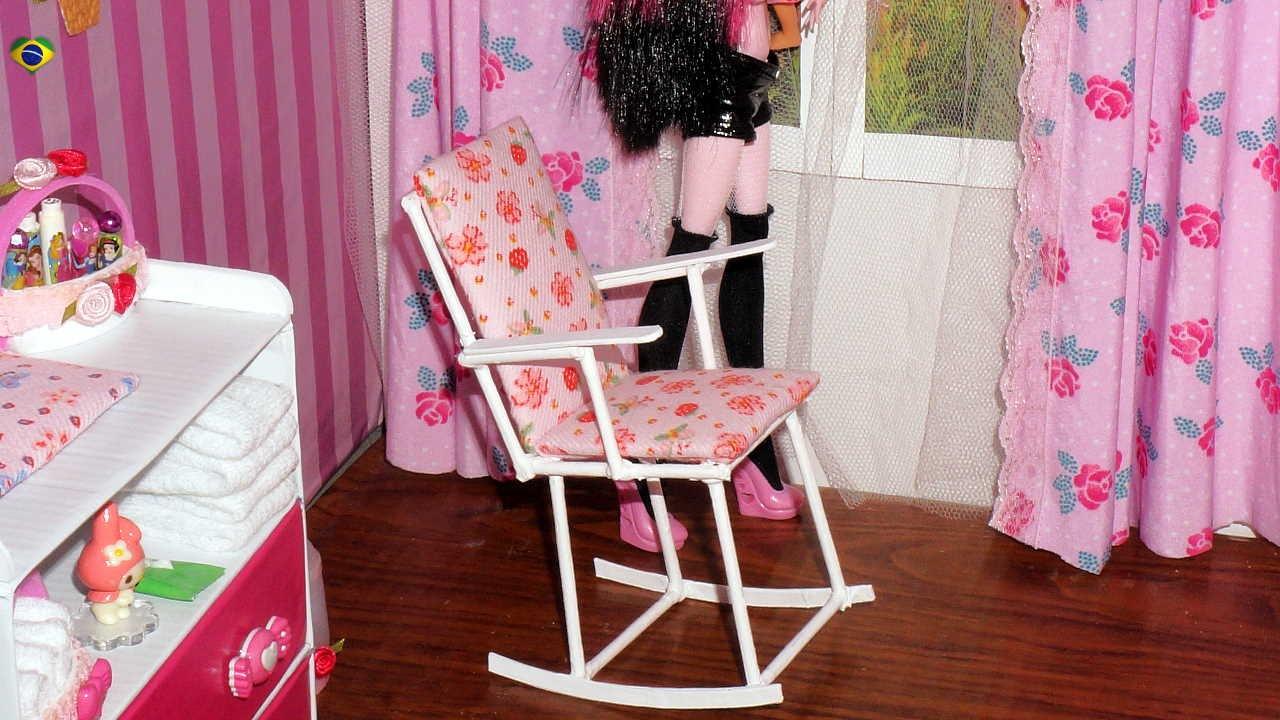 Como Fazer Cadeira De Balan 231 O Para Boneca Monster High