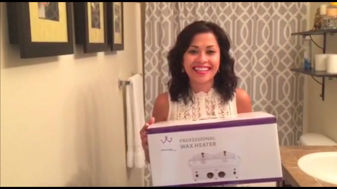 Wax Warmer Review At Home Wax Demo Youtube