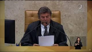 Fux lamenta morte de Paulo Gustavo em sessão