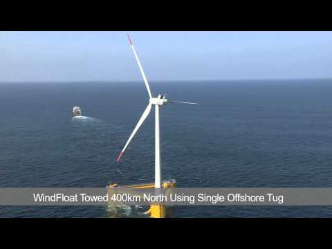Principle Power's WindFloat Prototype