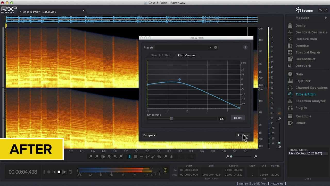 Easy Pitch Adjustments for Audio with iZotope RX® 3