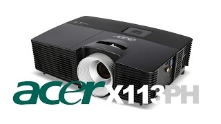 3D DLP проектор Acer X113PH Обзор и распаковка 3D DLP Projektor Acer X113PH review and unboxing