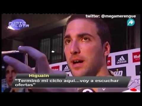 """Gonzalo Higuain """"Me quiero ir del Real Madrid """""""