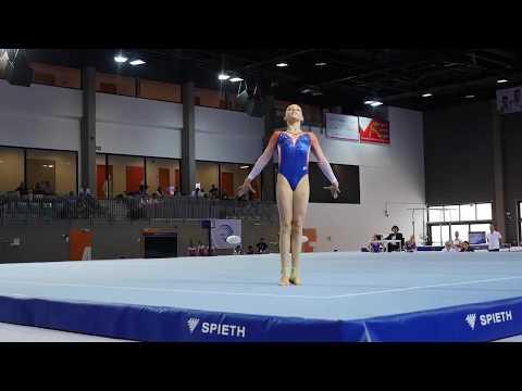 EYOF Győr 2017: vloeroefening Sanna Veerman