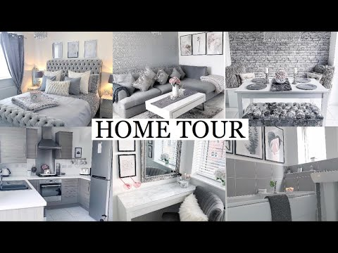 FULL HOUSE TOUR | LUXE ON A BUDGET | GREY, WHITE + BLUSH PINK INTERIOR | Gemma Louise Miles
