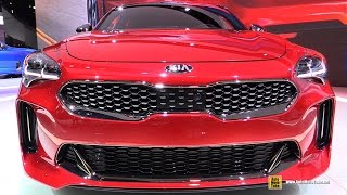 2018 KIA Stinger GT - Exterior and Interior Walkaround - Debut at 2017 Detroit Auto Show