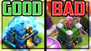 The BEST And WORST of Clash of Clans Town Hall 12 Update!