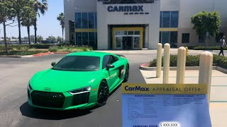 Taking $200K 1 OF 1 AUDI R8 V10 Plus to CarMax! YOU'LL BE SURPRISED WITH THE PRICE!