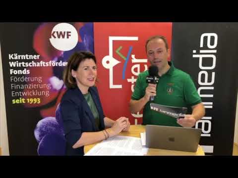 Mag. Sandra Venus | Vorstand des KWF | lanmedia Business Talk