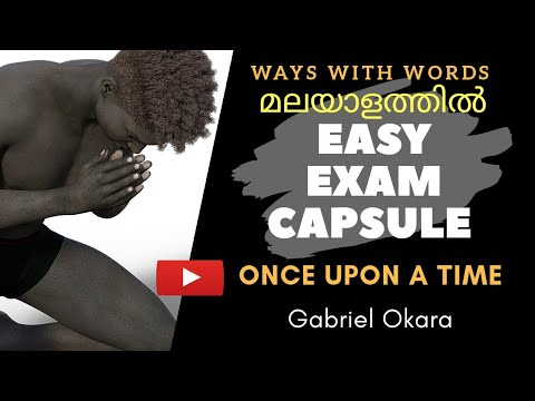 Once Upon A Time Summary And Analysis In Malayalam | Gabriel Okara | Ways With Words | CU