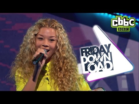 Molly Rainford performs Clean Bandit 'Rather Be' on CBBC Friday Download!