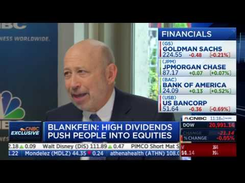 Wilfred Frost interviews Goldman Sachs CEO Lloyd Blankfein