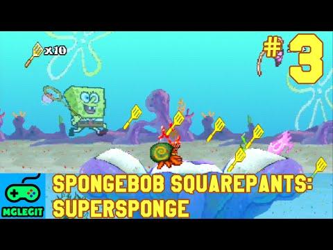 SpongeBob SquarePants SuperSponge Walkthrough Part 3 - Fish Hooks Park (PS1) (No Commentary)