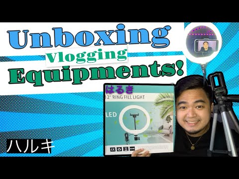 Unboxing Vlogging Equipments