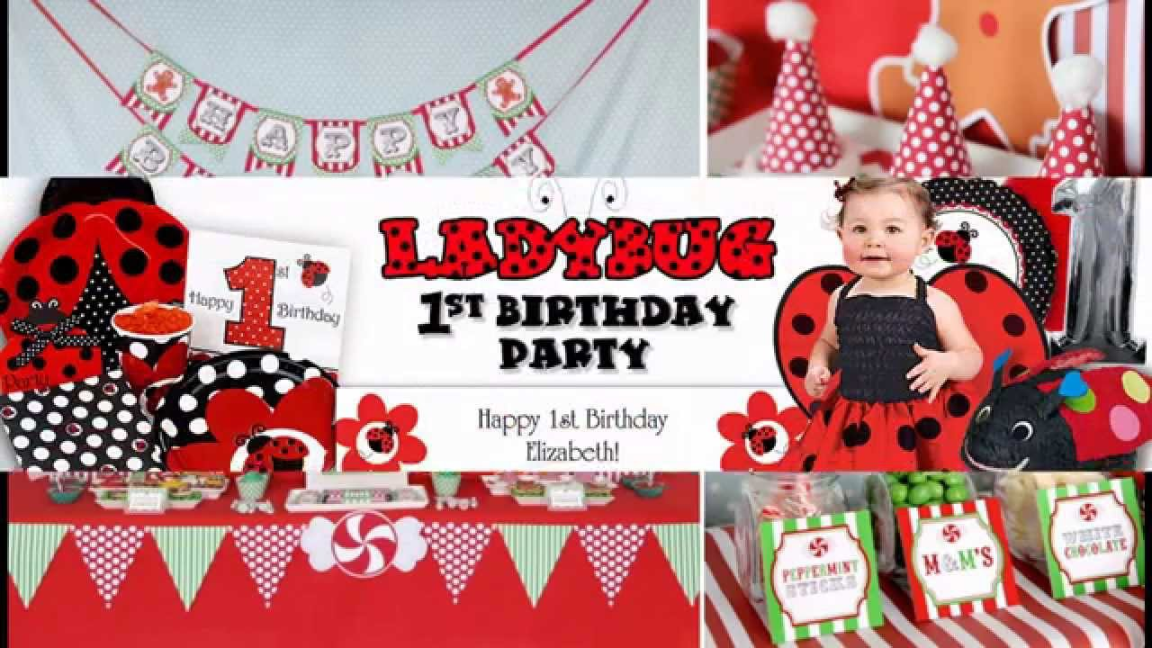 Creative 1st birthday party decorations ideas for girls YouTube
